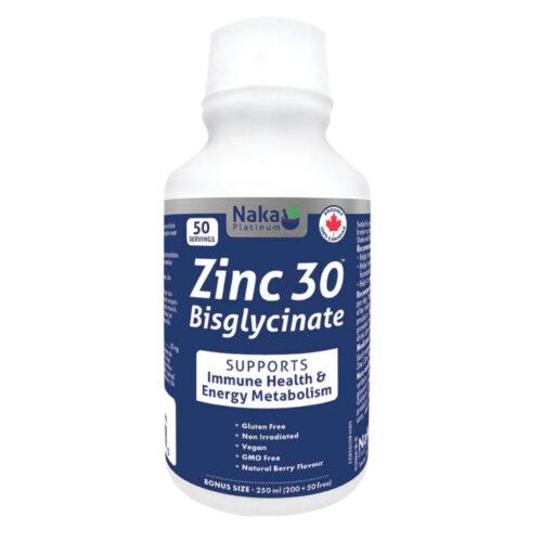 Platinum Zinc 30 Bisglycinate - 250ml
