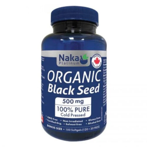PLATINUM ORGANIC BLACK SEED - 150 SOFTGELS